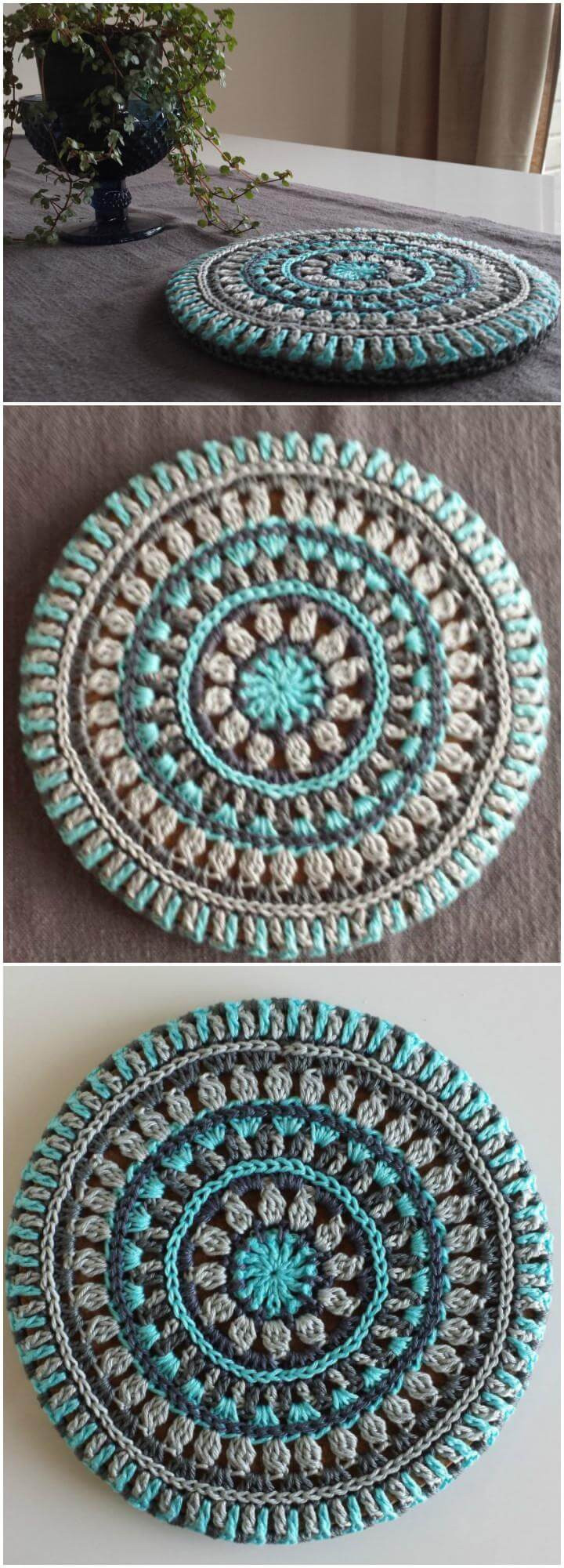 60 Free Crochet Mandala Patterns Page 3 of 12 DIY
