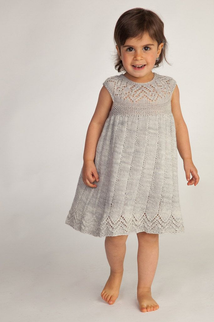 Lovely 66 Best Images About Knit Baby Dresses On Pinterest Knitted Baby Dress Of Brilliant 49 Photos Knitted Baby Dress