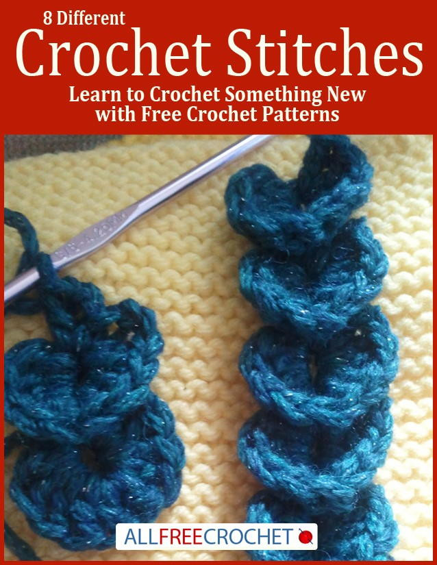 Lovely 8 Different Crochet Stitches Learn to Crochet something New Crochet Stitches Of Adorable 47 Photos New Crochet Stitches