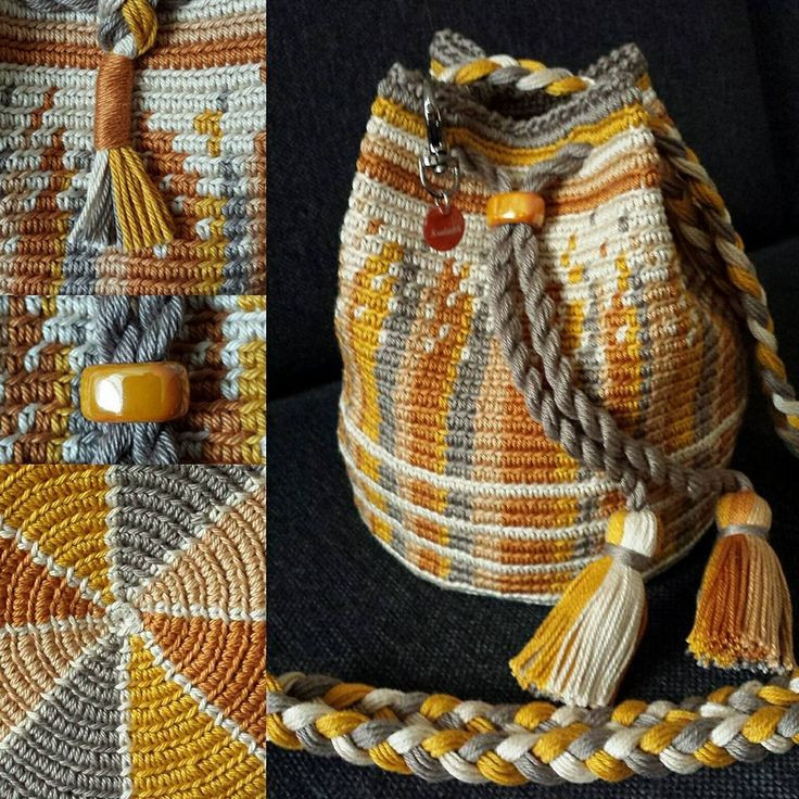 mochila bags and tapestry crochet
