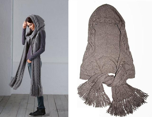Lovely A Beautiful Knit Hooded Scarf Free Pattern Hooded Scarf Knitting Pattern Of Delightful 48 Pictures Hooded Scarf Knitting Pattern