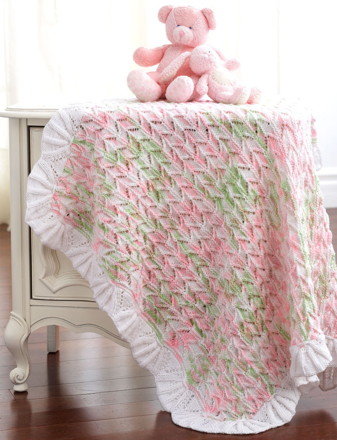 Lovely A some Baby Blanket Knitting Patterns Lace Blanket Of Great 41 Ideas Lace Blanket