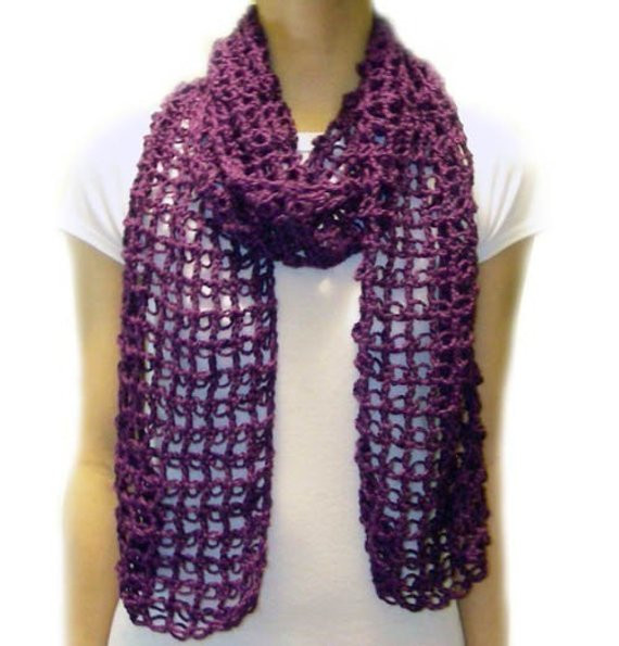 Lovely Absolutely Easy Lace Scarf Pdf Crochet Pattern Instant Lacy Crochet Scarf Patterns Of Amazing 50 Pics Lacy Crochet Scarf Patterns