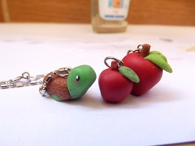 Lovely Air Dry Clay Tutorials Apple Earrings Charms and Magnets Air Dry Polymer Clay Of Contemporary 47 Pics Air Dry Polymer Clay