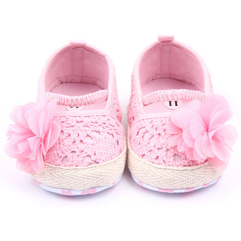 Lovely Aliexpress Buy Baby Infant Girl soft sole Anti Slip Crochet Baby Girl Shoes Of Amazing 43 Images Crochet Baby Girl Shoes