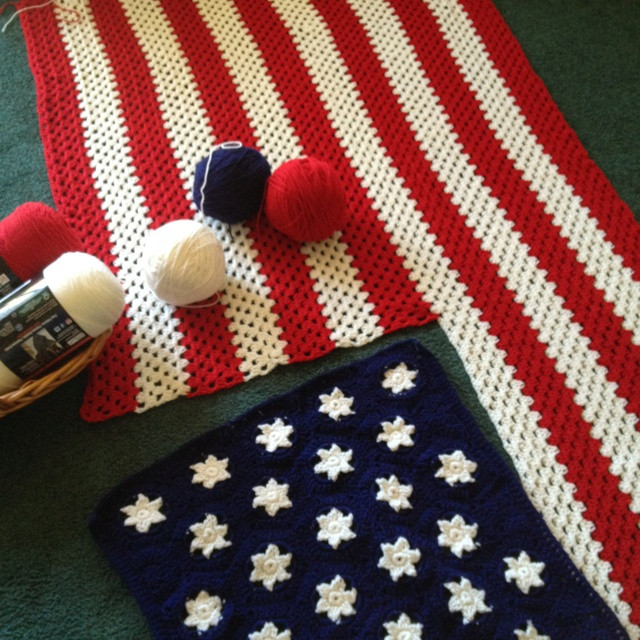 Lovely American Flag Afghan Patterns American Flag Crochet Pattern Of Attractive 40 Pics American Flag Crochet Pattern
