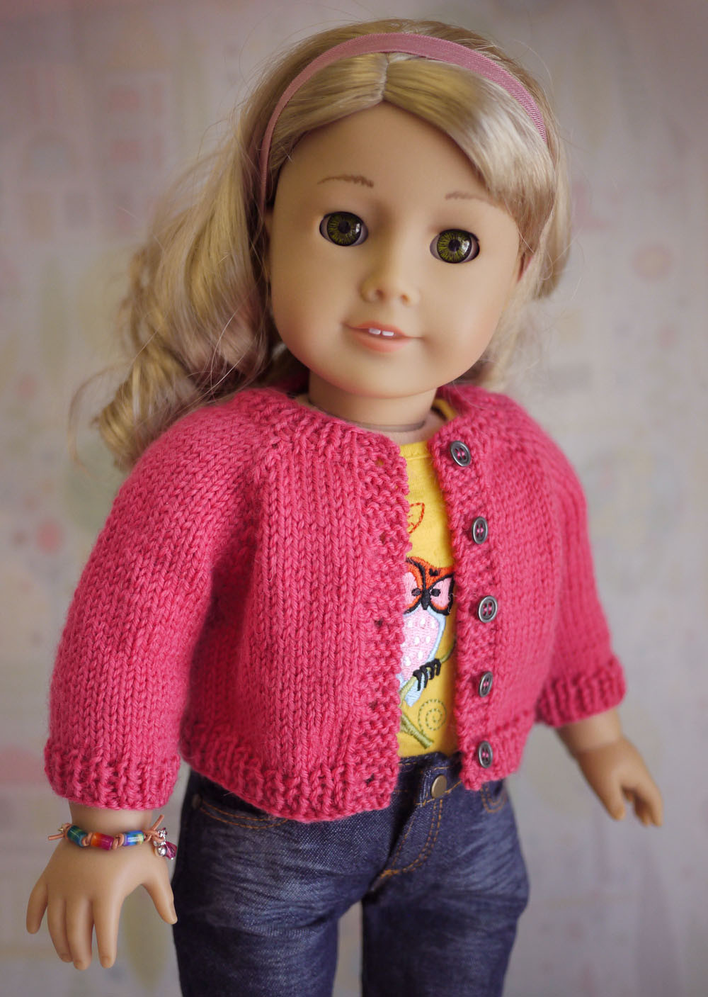 Lovely American Girl Doll Cardigan Sweater Knitting Pattern Free Knitting Patterns for American Girl Dolls Of Delightful 41 Models Free Knitting Patterns for American Girl Dolls