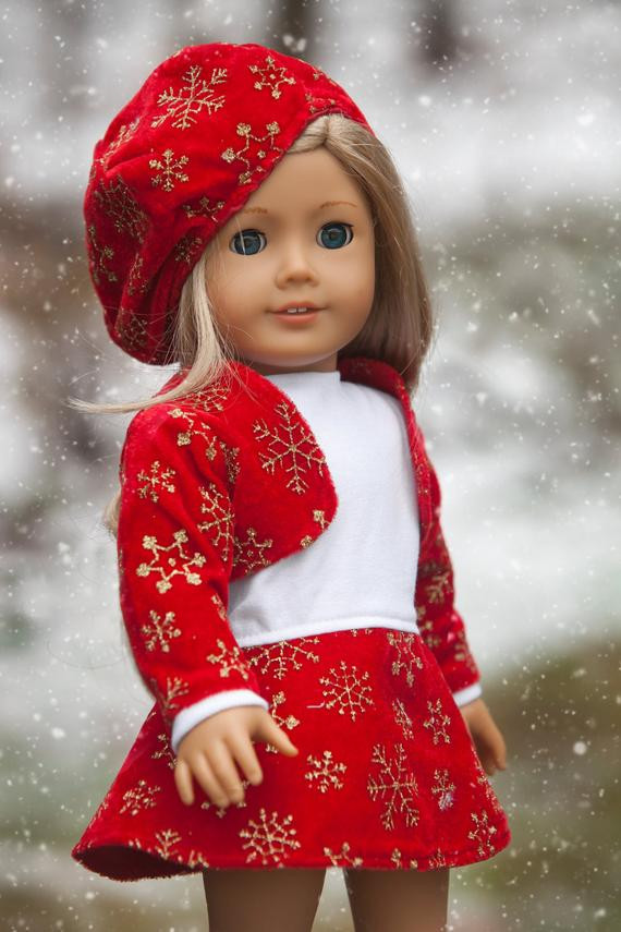 Lovely American Girl Doll Clothes Christmas Dress American Girl Christmas Dress Of Lovely 47 Models American Girl Christmas Dress