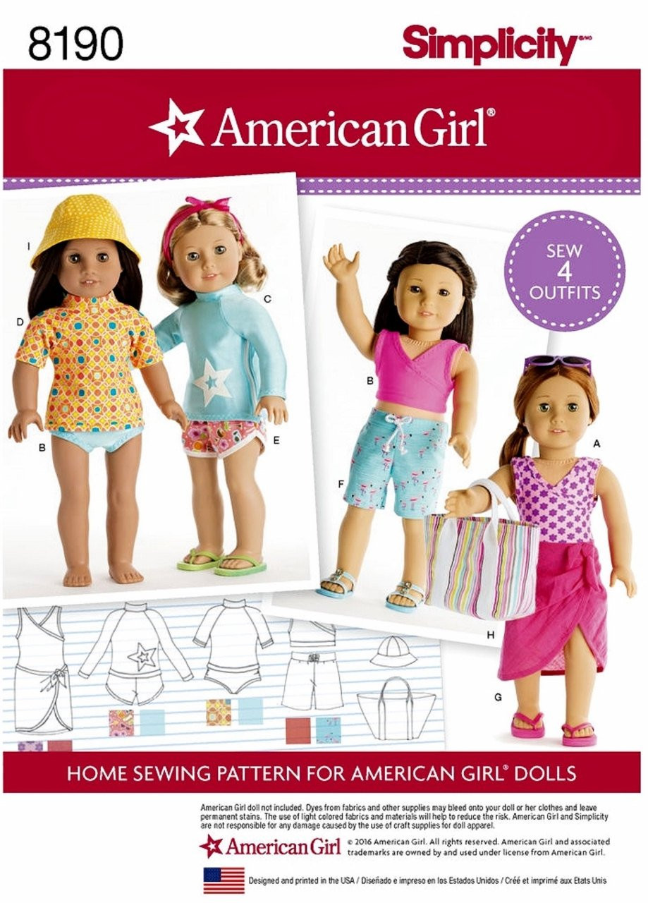Lovely American Girl Doll Clothes Pattern 18 Inch American Girl American Girl Doll Clothes Patterns Of Incredible 40 Images American Girl Doll Clothes Patterns