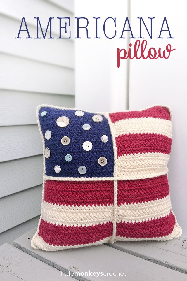 Lovely Americana Crochet Pillow Free American Flag Crochet Pattern Of Delightful 50 Pictures Free American Flag Crochet Pattern