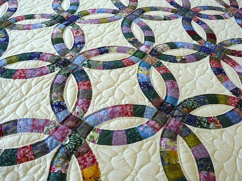 Lovely Amish Handmade and Patchwork Quilts for Sale Double Wedding Ring Of Perfect 40 Photos Double Wedding Ring