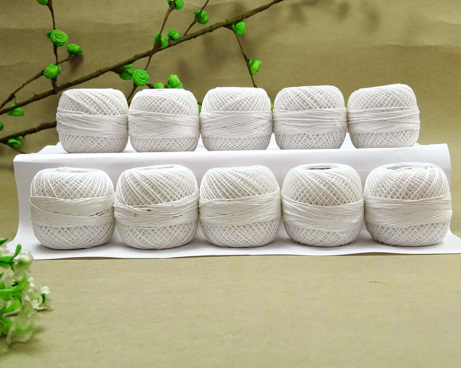Lovely Anchor Crochet Cotton Knitting Tatting Ball Embroidery Crochet Cotton Thread Of New 50 Pics Crochet Cotton Thread