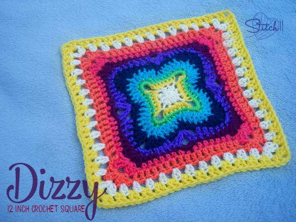 Lovely and Dizzy Crochet Granny Square Large Granny Square Pattern Of New 47 Photos Large Granny Square Pattern