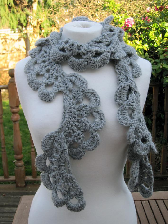 Lovely Anesha Crochet Lace Scarf Crochet Pattern by Fiona Morris Crochet Lace Scarf Pattern Of Great 44 Pictures Crochet Lace Scarf Pattern