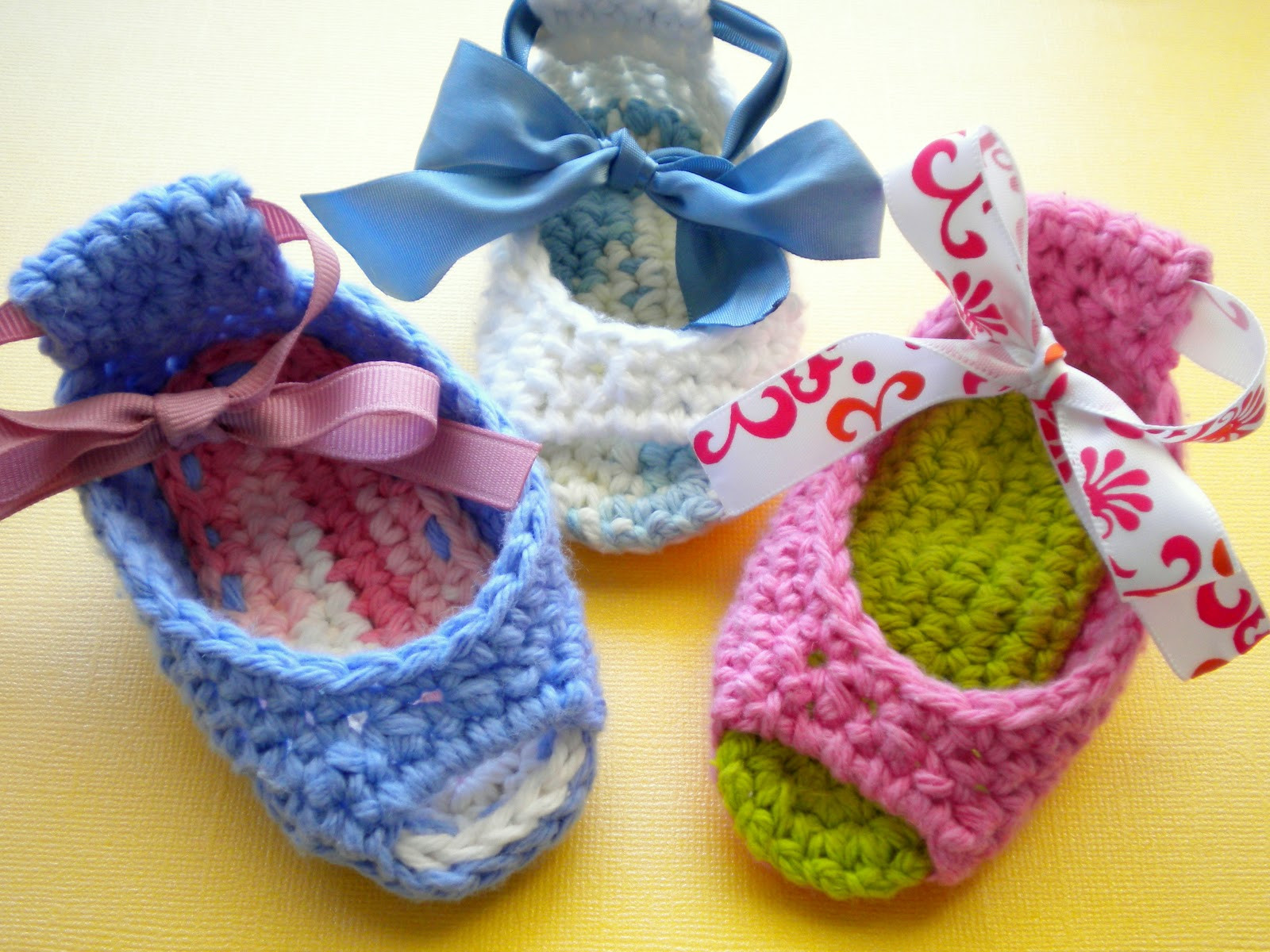 AnnaVirginia Fashion Piggy Peeps Baby Shoes Pattern