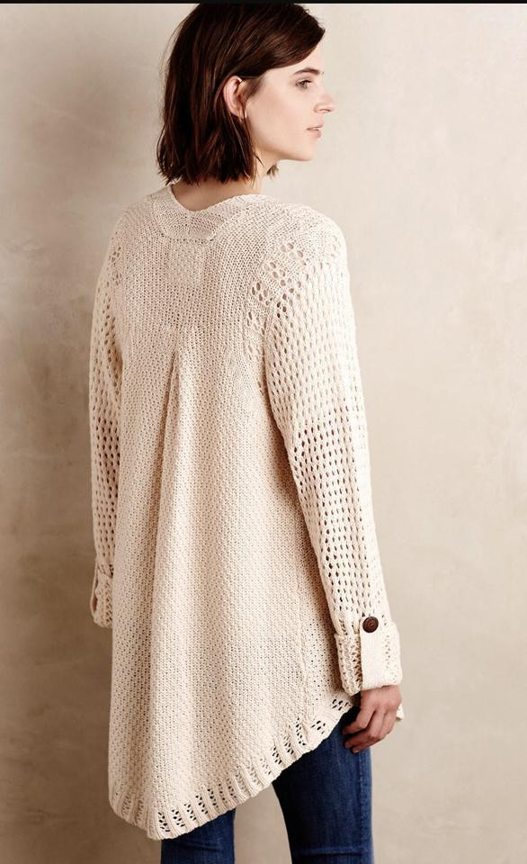 Anthropologie Angel The North Silva Circle Cardigan on
