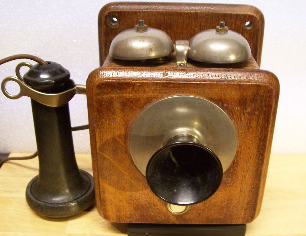 Lovely Antique Vintage Wooden Wall Phone Stromberg Carlson Old Wooden Phone Of Adorable 43 Images Old Wooden Phone