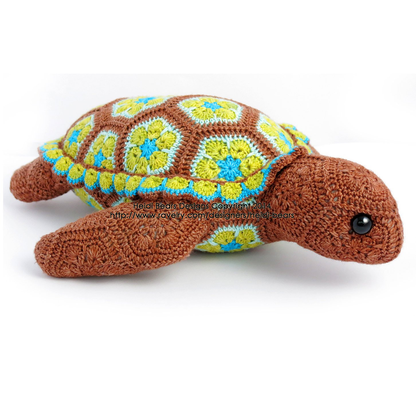 Lovely atuin the Turtle African Flower Crochet Pattern Crochet Turtle Of Innovative 48 Images Crochet Turtle