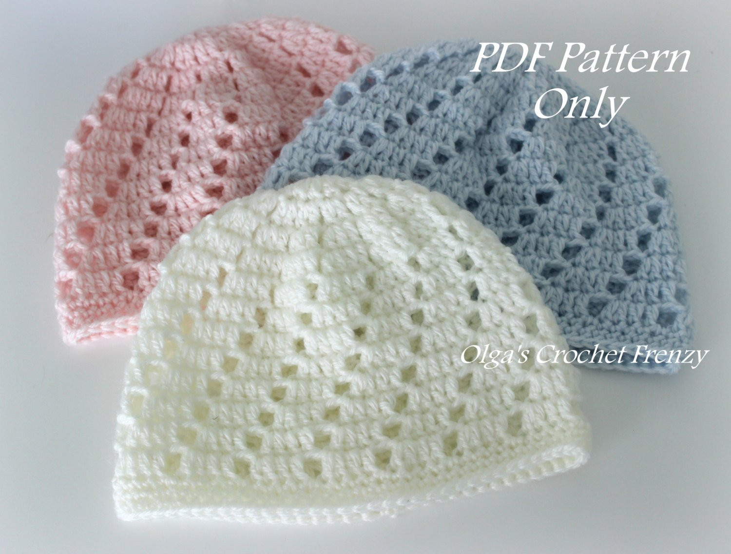 Lovely Baby Beanie Hat Crochet Pattern Beginner Skill Level Size Free Crochet Infant Hat Patterns Of Contemporary 50 Models Free Crochet Infant Hat Patterns