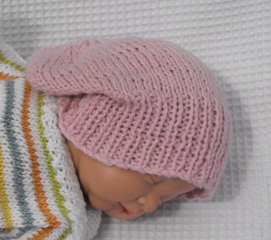 Lovely Baby Cotton Slouch Beanie Hat Knitting Pattern by Baby Beanie Knitting Pattern Of Innovative 49 Pics Baby Beanie Knitting Pattern