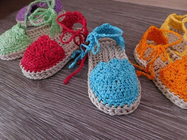 Lovely Baby Espadrille Baby Sandals Baby Booties Crochet Pattern Crochet Baby Items Of Marvelous 40 Pictures Crochet Baby Items