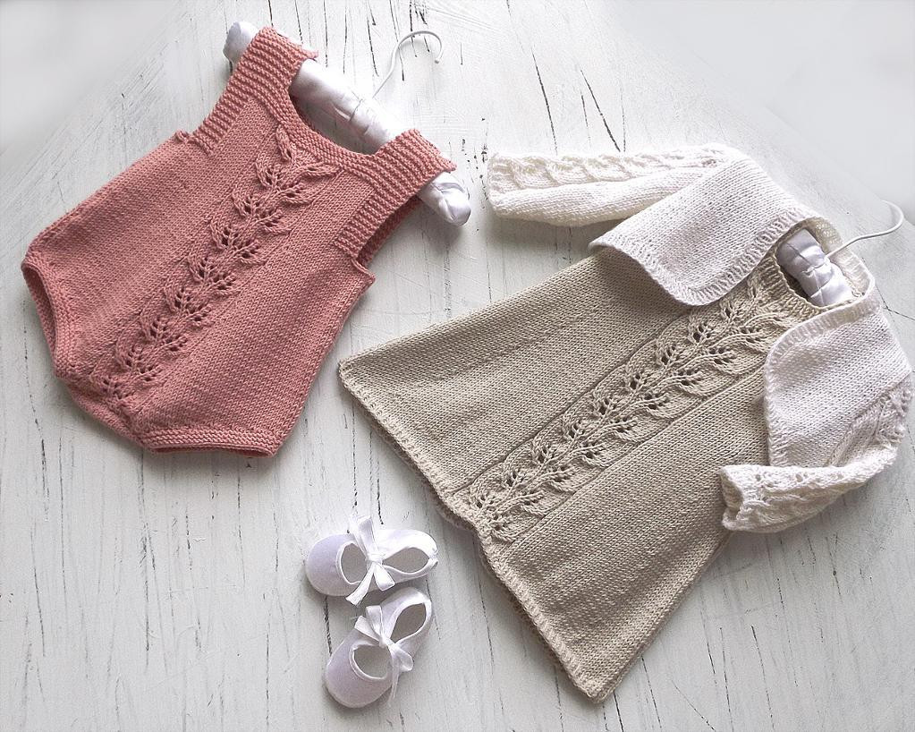 Lovely Baby Girls Dress Bolero and Rompers by Oge Designs Craftsy Knitted Baby Romper Of Amazing 42 Ideas Knitted Baby Romper