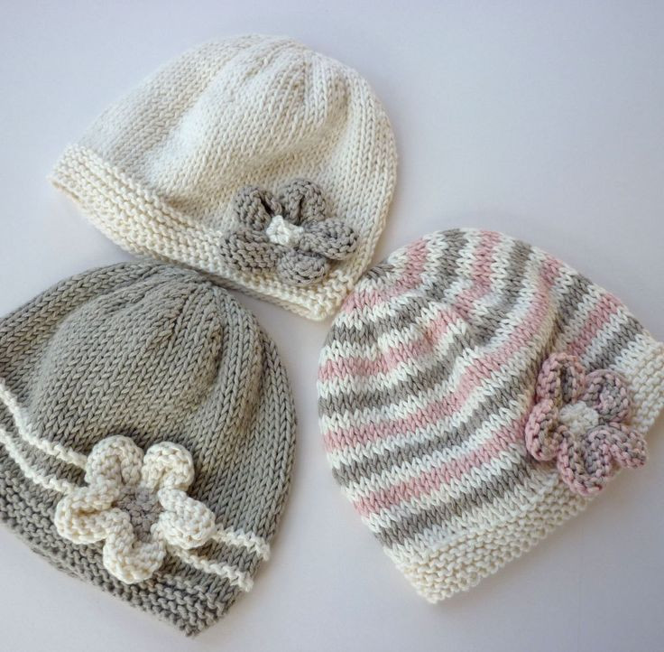 Baby Knitting Patterns Baby Hat Knitting Pattern pdf