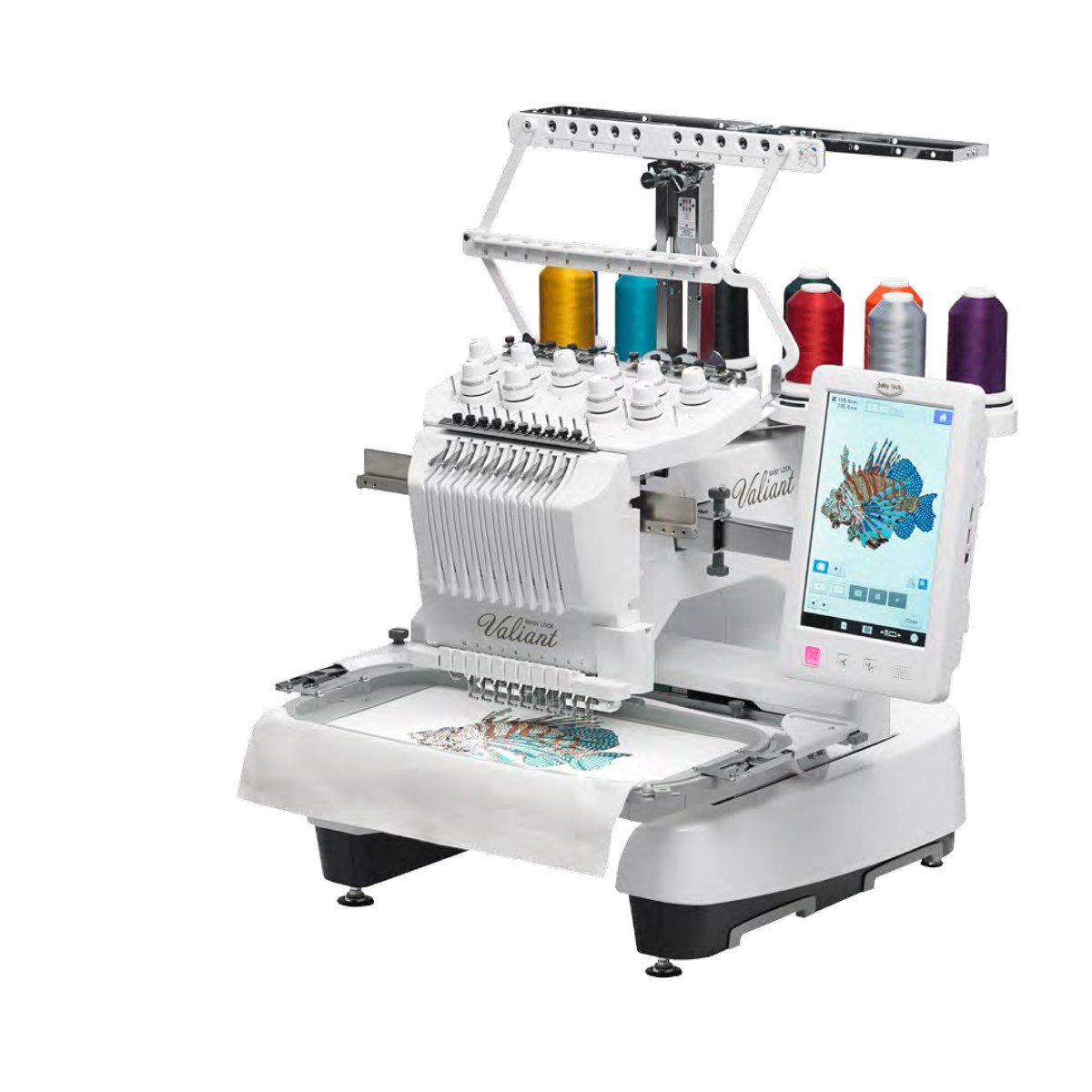 Lovely Baby Lock Valiant 10 Needle Embroidery Machine Meissner Embroidery Only Machines Of Perfect 49 Pics Embroidery Only Machines