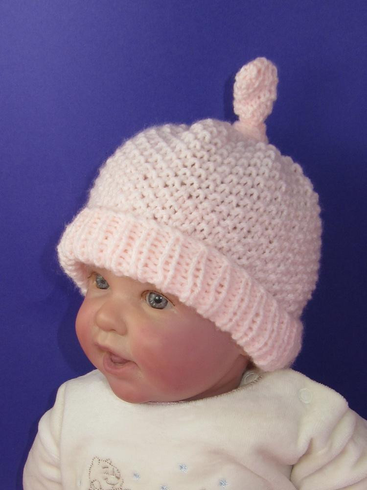 Lovely Baby Moss Stitch topknot Beanie Hat Knitting Pattern by Stitch Beanie Of Awesome 40 Images Stitch Beanie