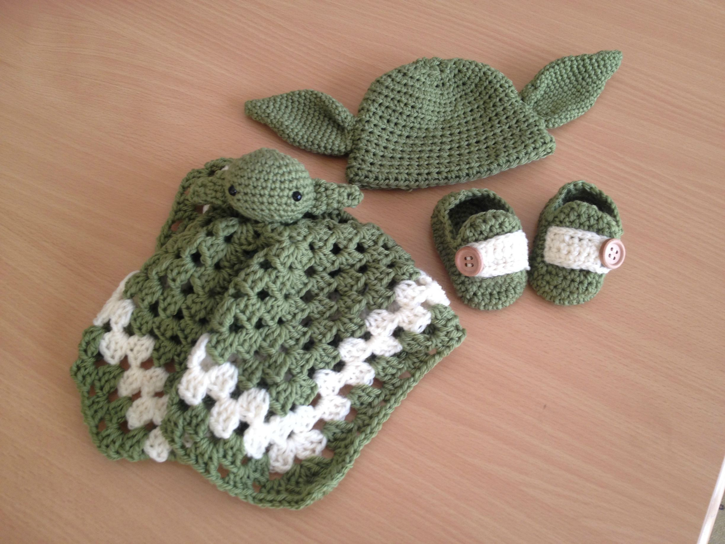 Lovely Baby S First Crocheted Yoda Outfit — Fashion Baby Patterns Of New 50 Ideas Baby Patterns