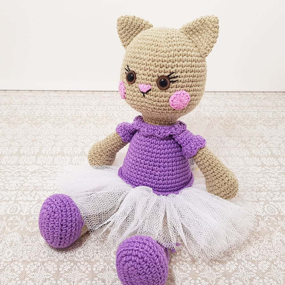 Lovely Ballerina Cat Doll Crochet Pattern Amigurumi today Free Doll Patterns Of Unique 47 Photos Free Doll Patterns