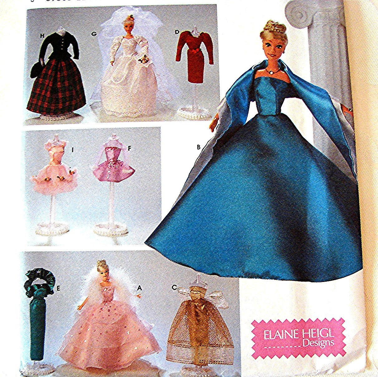 Lovely Barbie Doll Clothes Pattern Simplicity Barbie Gowns Dresses Barbie Doll Clothes Patterns Of Contemporary 50 Pictures Barbie Doll Clothes Patterns