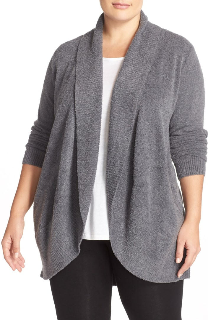 Barefoot Dreams CozyChic Lite Circle Cardigan Plus Size
