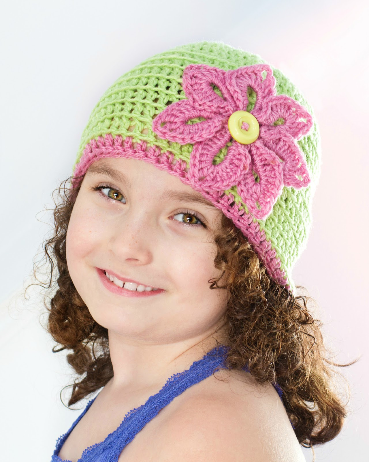 Lovely Basic Spring Beanie & Flower Crochet Pattern Interweave Simple Crochet Beanie Of Amazing 46 Ideas Simple Crochet Beanie