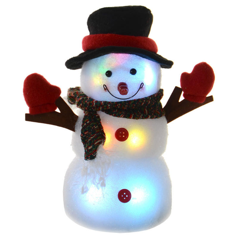 Battery Operated Festive 24cm Light Up Colour Changing