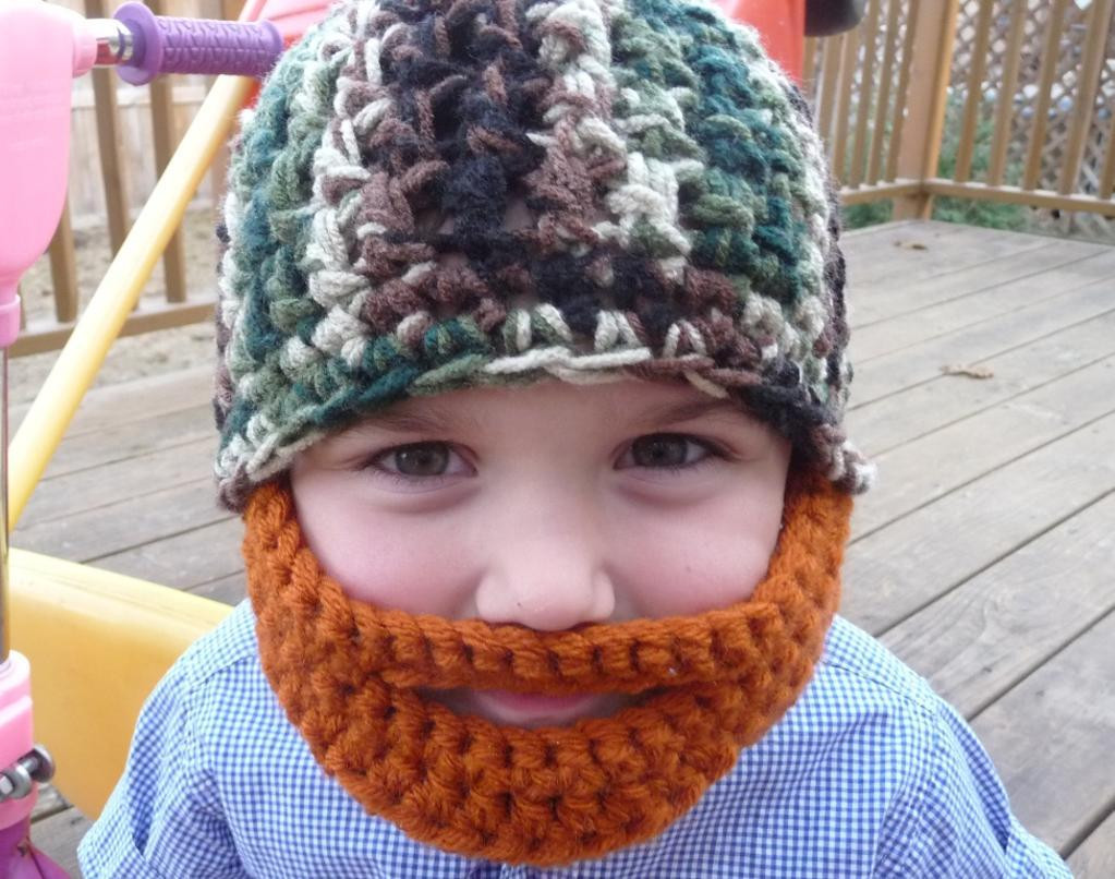 Lovely Beard Beanies Crochet Beard Hat Of Charming 44 Models Crochet Beard Hat