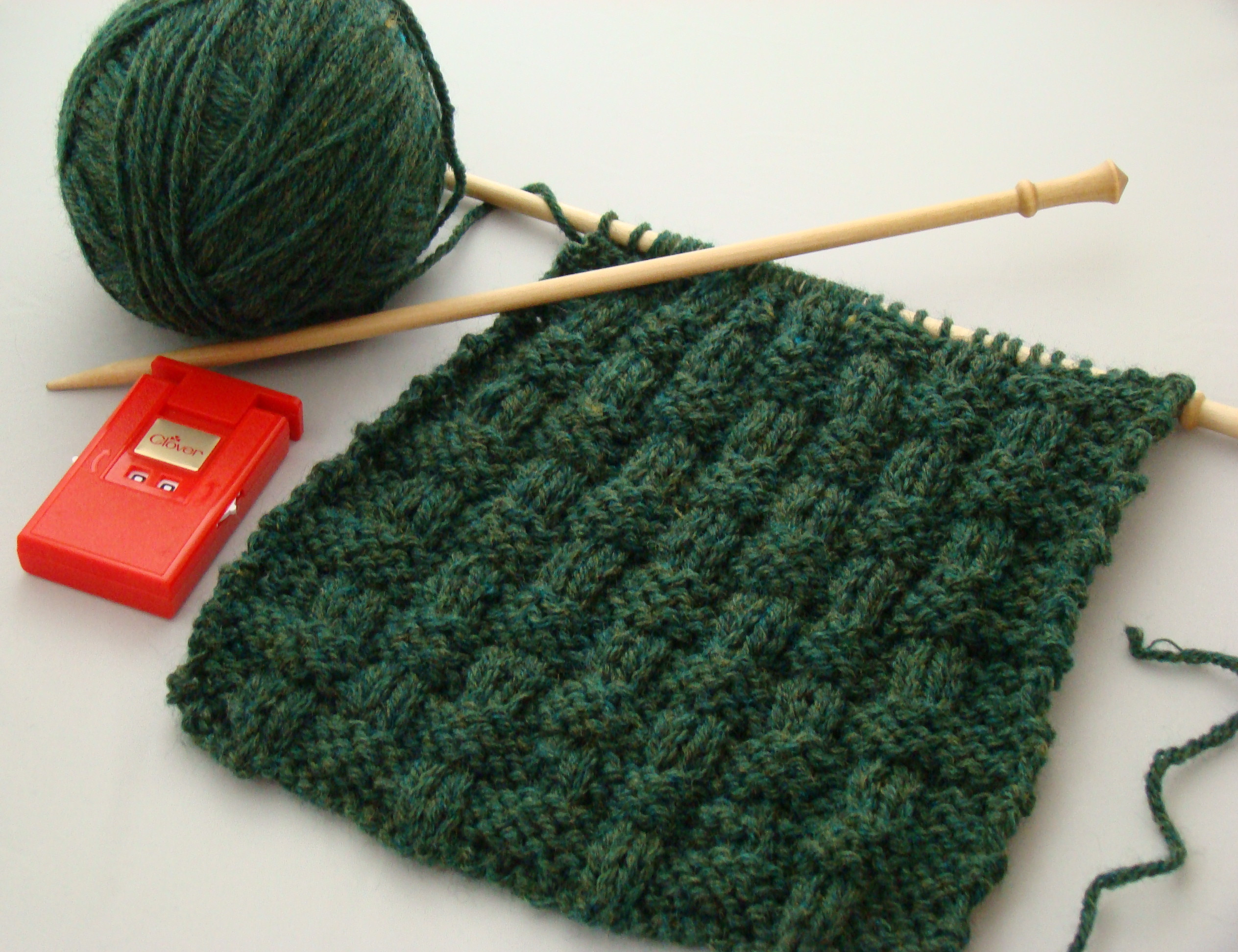 Beautiful Basket Weave Knitting Stitch for Beginners