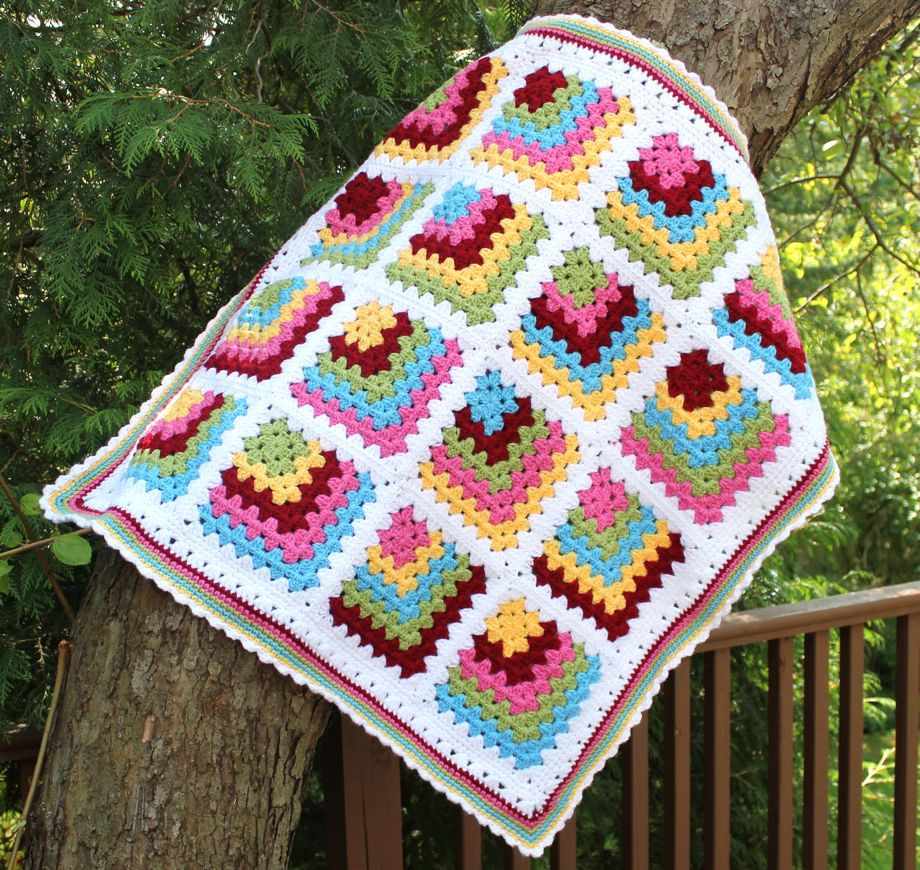 Lovely Beautiful Granny Square Inspiration Easy Granny Square Blanket Pattern Of Contemporary 40 Models Easy Granny Square Blanket Pattern