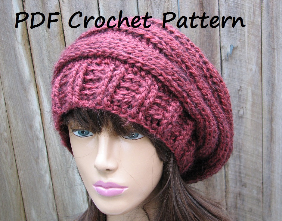 Lovely Beginner Crochet Patterns Hats Easy Crochet Beanie Pattern Of Awesome A Variety Of Free Crochet Hat Patterns for Making Hats Easy Crochet Beanie Pattern