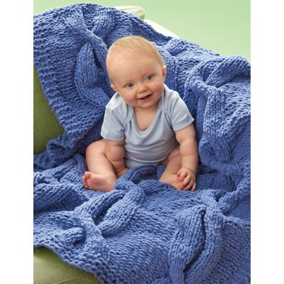 Lovely Bernat Coziest Cable Blanket Free Intermediate Knit Bernat Baby Blanket Knitting Patterns Of Charming 43 Models Bernat Baby Blanket Knitting Patterns