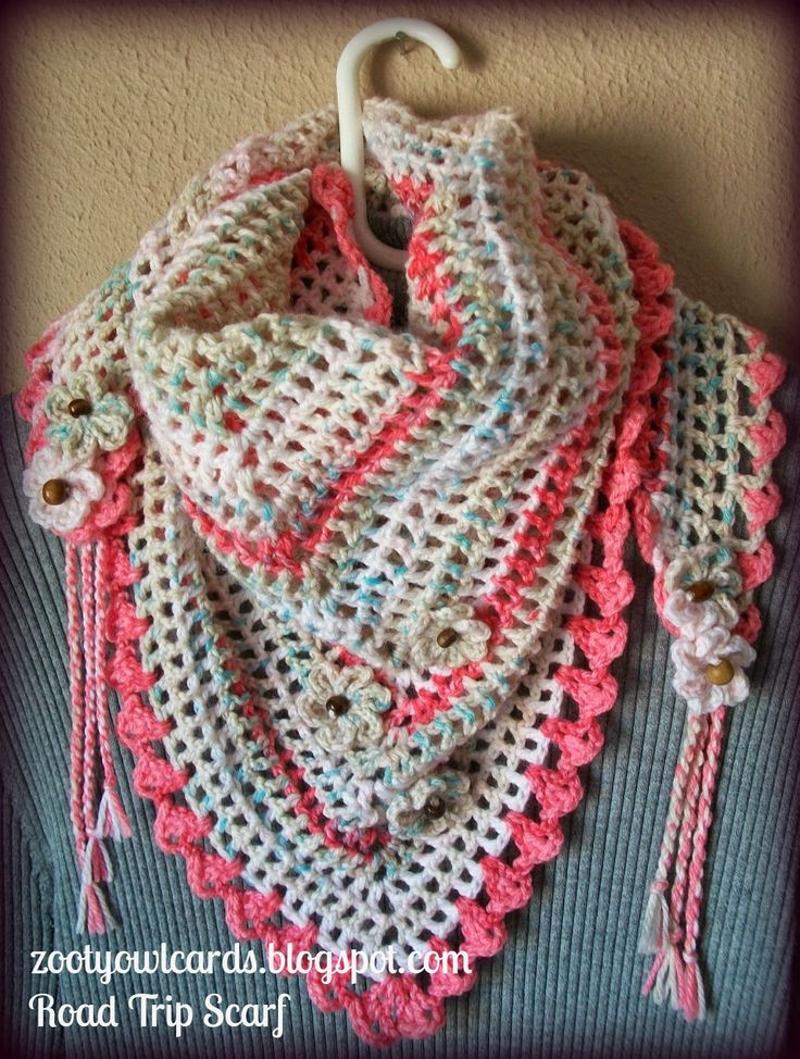 Lovely Best 25 Crochet Triangle Scarf Ideas On Pinterest Triangle Scarf Crochet Pattern Of Marvelous 44 Photos Triangle Scarf Crochet Pattern