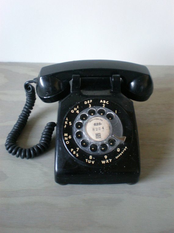 Lovely Black Rotary Phone Old Fashioned Telephone Old Time Phone Of Great 44 Models Old Time Phone