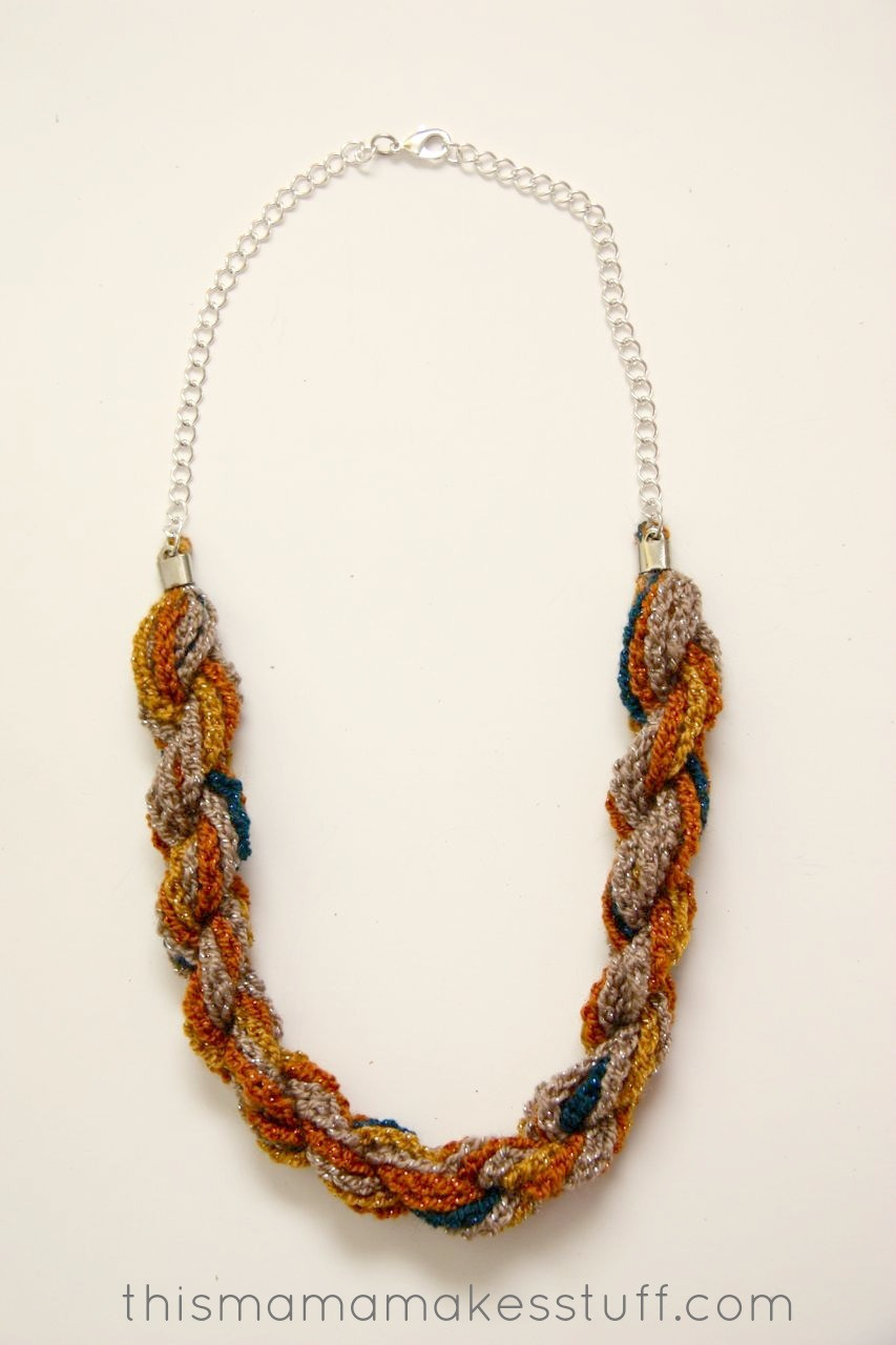 Lovely Bohemian Twist Yarn Necklace Crochet Yarn Twist Of Delightful 44 Models Crochet Yarn Twist