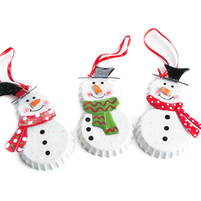 Lovely Bottle Cap Snowman ornament Christmas ornaments Snowman Christmas ornaments Of Adorable 45 Models Snowman Christmas ornaments