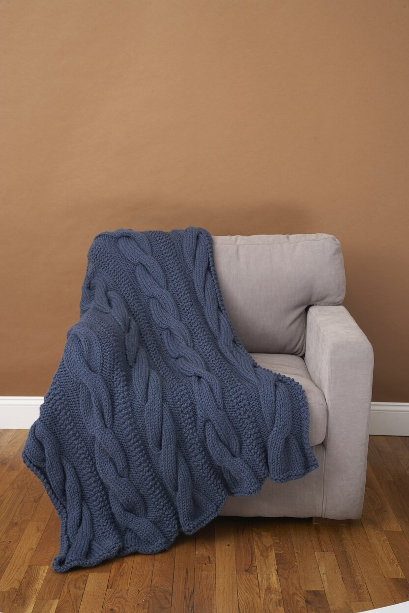 Lovely Cable fort Throw Lion Brand Wool Ease Thick & Quick Lion Brand Yarn Free Patterns Of Contemporary 45 Pics Lion Brand Yarn Free Patterns