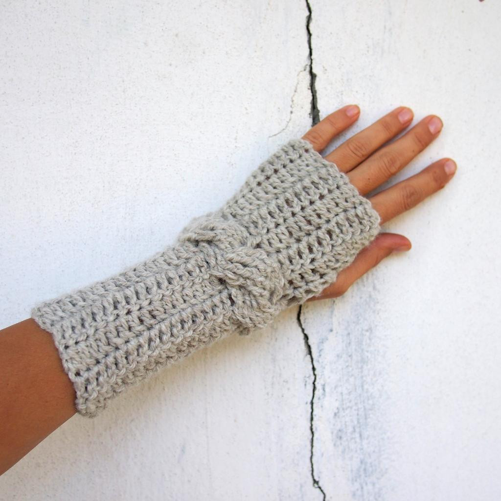 Lovely Cables aren T Just for Knitters Crochet A Cable Pattern Crochet Mitten Pattern Of Marvelous 50 Ideas Crochet Mitten Pattern