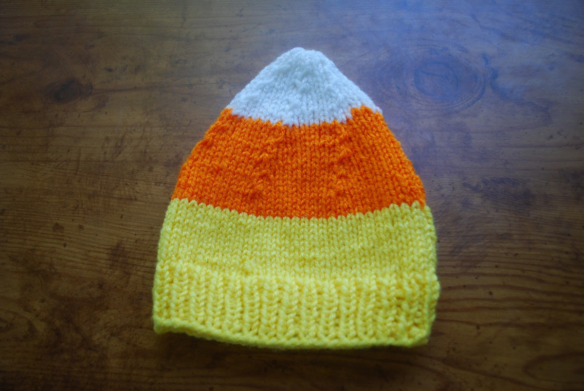 Lovely Candy Corn Knit Baby Hat – Barefoot Boutique Candy Corn Hat Of Incredible 42 Pictures Candy Corn Hat