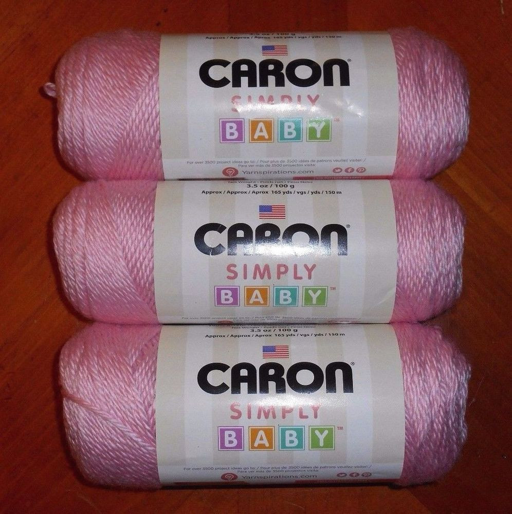 Lovely Caron Simply soft Baby Yarn Lot 3 Skeins Baby Pink Caron Baby Yarn Of Superb 49 Ideas Caron Baby Yarn