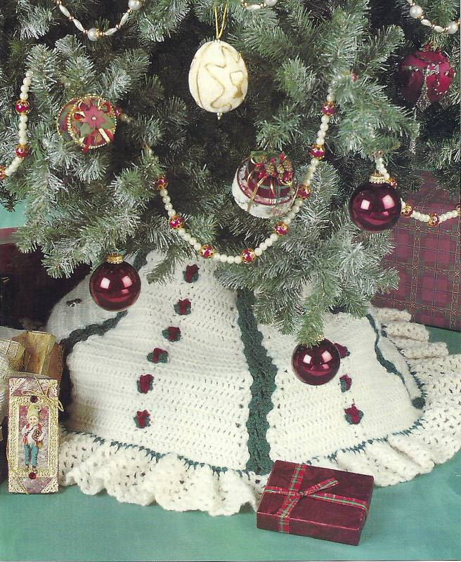 Lovely Christmas Crochet Skirt Tree Crochet — Learn How to Crochet Crochet Tree Skirt Of Innovative 45 Ideas Crochet Tree Skirt