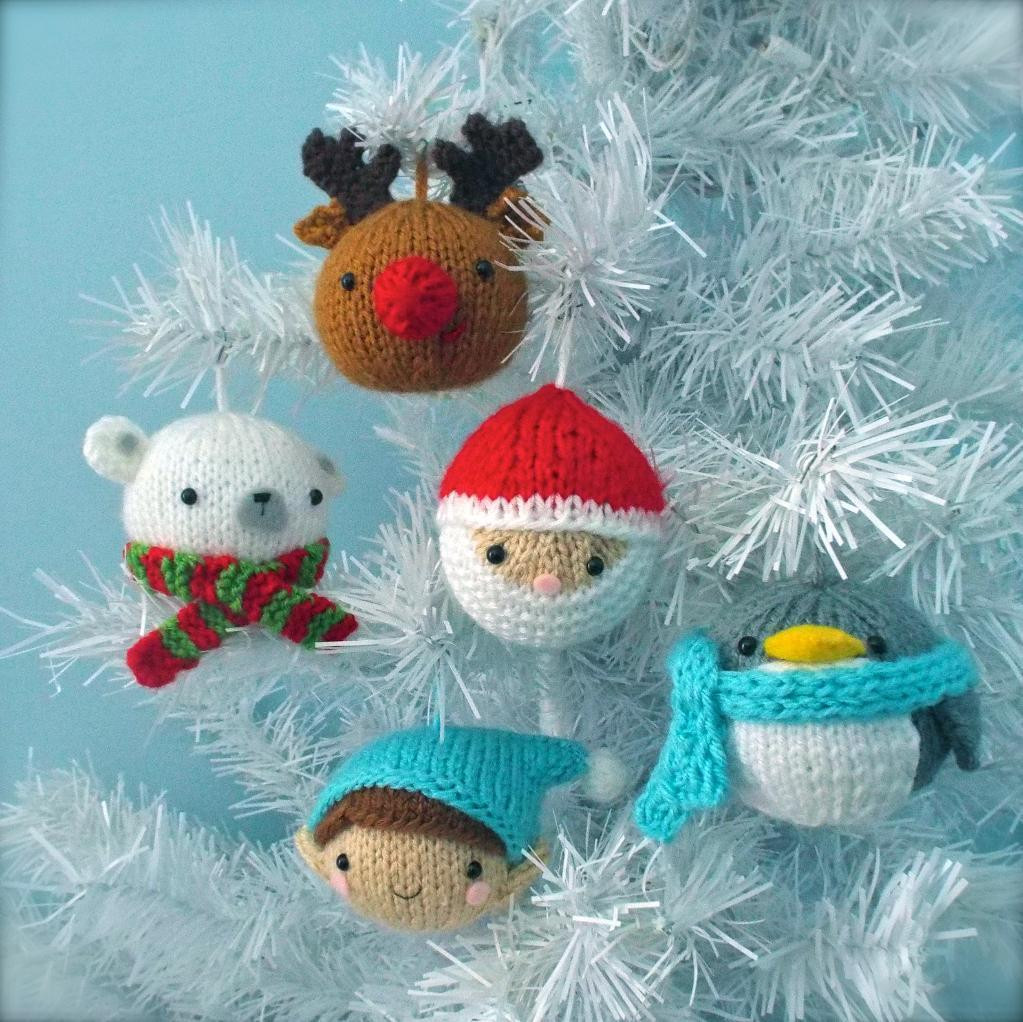 Lovely Christmas Decoration Knitting Pattern Knitted Christmas ornaments Of Incredible 50 Models Knitted Christmas ornaments